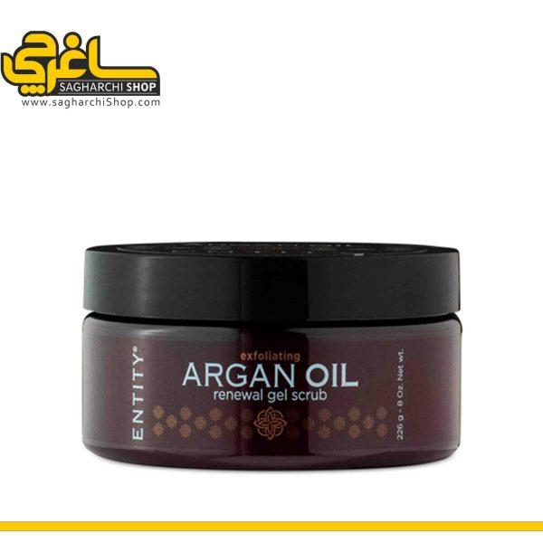 اسکراب ARGAN OIL 226ml برند ENTITY