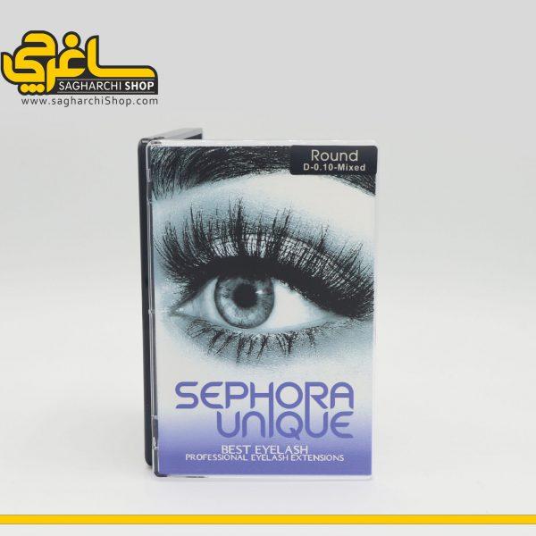 مژه های Sephora Uniqueفر D ضخامت 0.10mm میکس