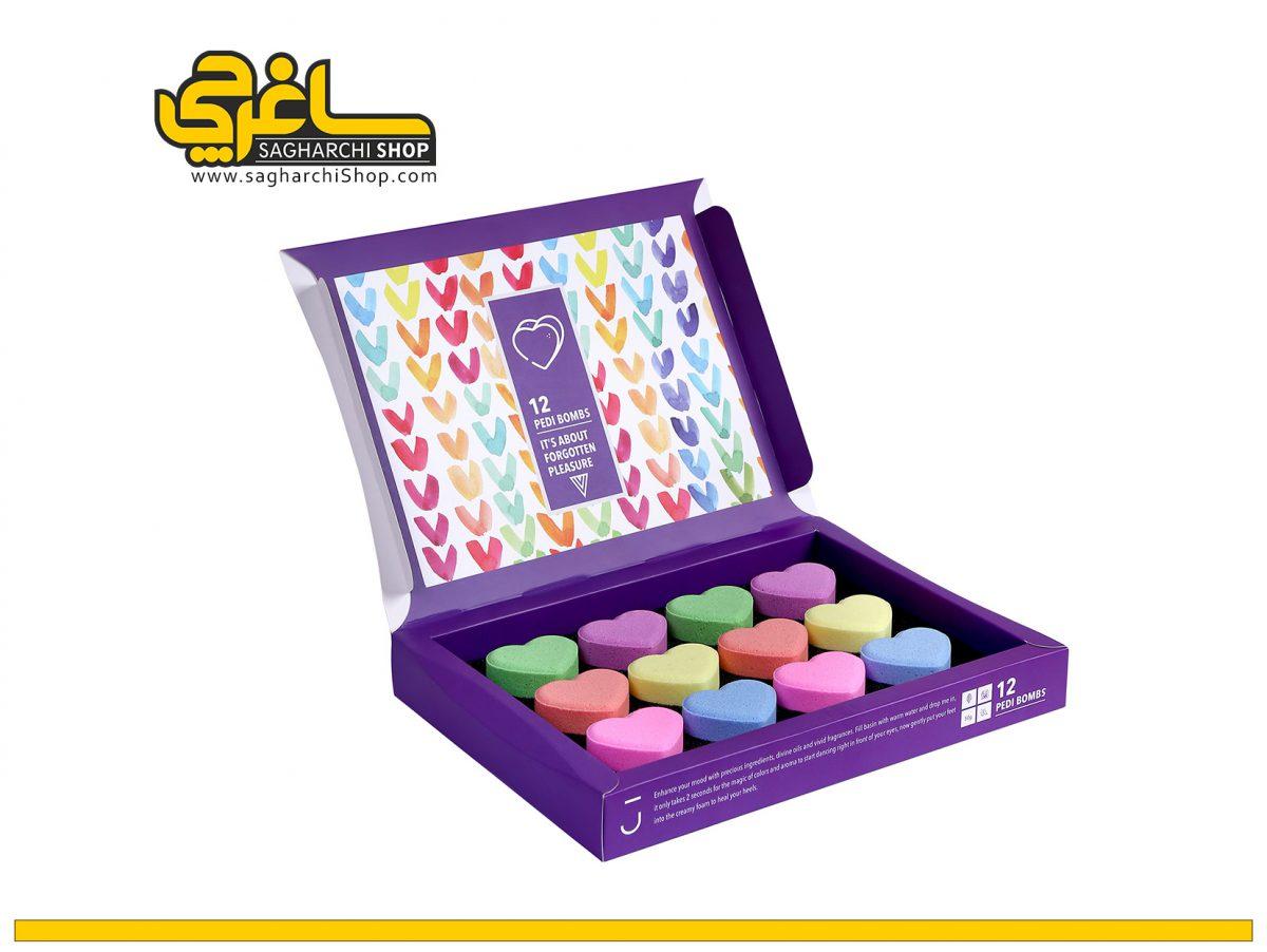 کوکتل جعبه ای 12 عددی ژبن heart